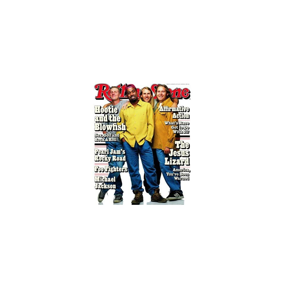 Hootie & Blowfish 1995 Rolling Stone Cover Poster Mark Seliger (9.00 x 11.00)