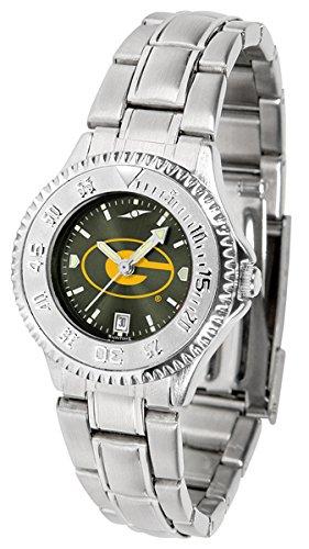 (Linkswalker Grambling State University Tigers Ladies' Steel Anochrome Watch)