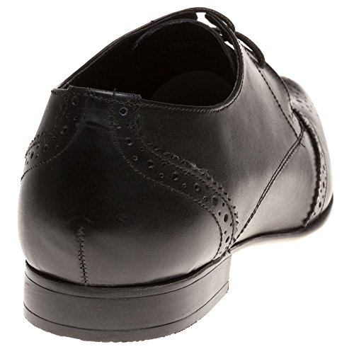 Ben Sherman Myas Brogue Homme Chaussures Noir