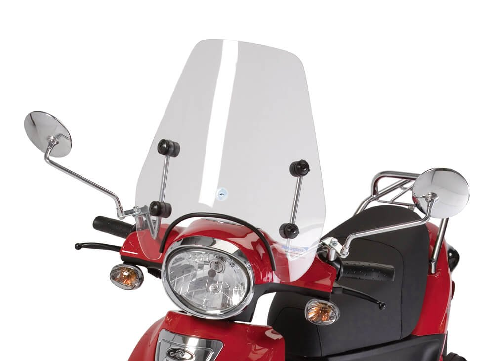 Scooter Windscreen, Short Size, for Genuine Buddy by Cuppini