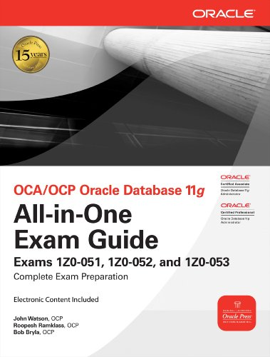 OCA/OCP Oracle Database 11g All-in-One Exam Guide (Oracle Press) Pdf