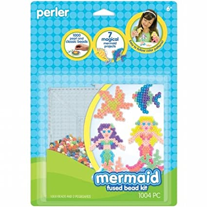 Perler Fused Bead Kit-Mermaid PRL62943
