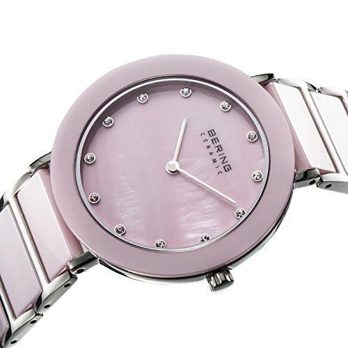 Bering time para mujer-reloj analógico de cuarzo chapado en acero inoxidable 11435-999