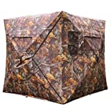 Pop Up Ground Hunting Blind Camouflage Hub Style Tent