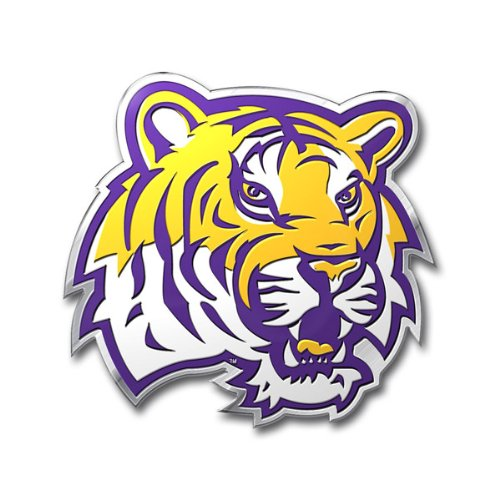 NCAA LSU Tigers Die Cut Color Automobile - In Louisiana Outlet Malls