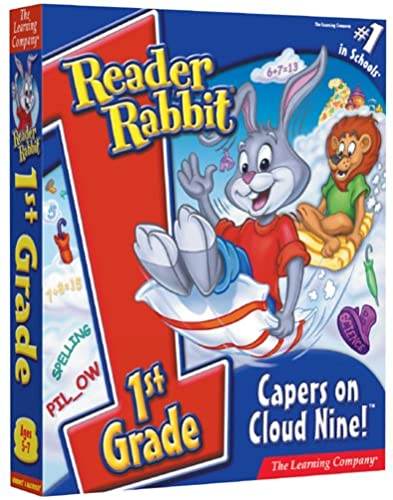 Reader Rabbit 1st Grade Capers On Cloud Nine [OLD VERSION] by The Learning Company