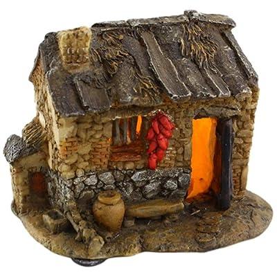 Top Collection Enchanted Story Garden and Terrarium Southern Style Fairy House Outdoor Decor with Light: Garden & Outdoor