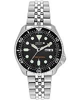[セイコーimport]SEIKO 腕時計 逆輸入 海外モデル ブラック SKX007KD メンズ [並行輸入品]
