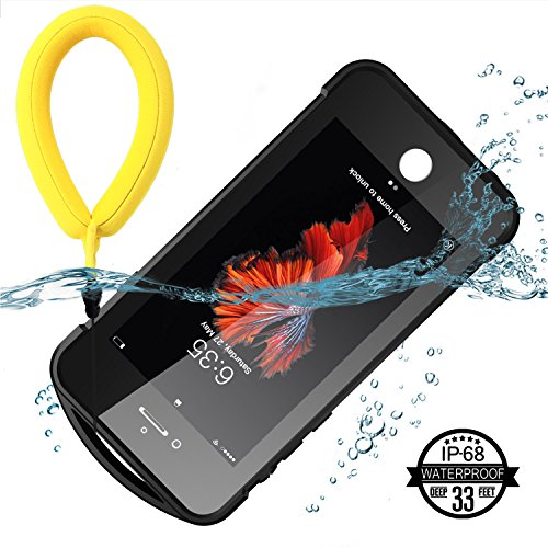 iPhone 7/8 Waterproof Case, Temdan SUPREME Series Waterproof Case with Carabiner Built in Screen Protector Outdoor Rugged Shockproof Clear Case for iPhone 7 and iPhone 8 (4.7 inch) by Temdan (Image #2)