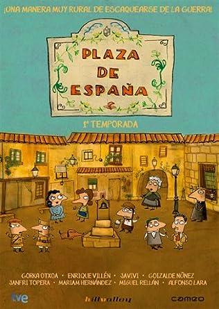Plaza De España - Temporada 1 [DVD]: Amazon.es: Gorka Otxoa ...