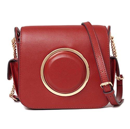 Tingting Multicolor Belt Bag Shoulder Camera Bag Genuine Leather Bags Lady Bags Lady Bags Elegant Lady Multicolor, March 1