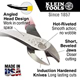 Diagonal Cutters, Ironworker Pliers, 9-Inch High Leverage Rebar Cutter and Rebar Bender Klein Tools D248-9ST