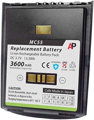 Original 3600mAh Battery for Motorola Zebra Symbol MC55 MC55A0 MC65 mc67
