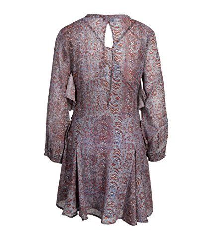 Blu01 Kleid Blue mit Damen Ilacie blau IRO Print YUqZCw1v