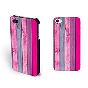 Simple Wood Grain Pattern Print For Iphone 4/4S Case Cover Personalized Custom For Iphone 4/4S Case Cover Skin Screen Protector