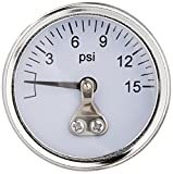Professional Products 11112 0-15 Fuel Pressure Gauge