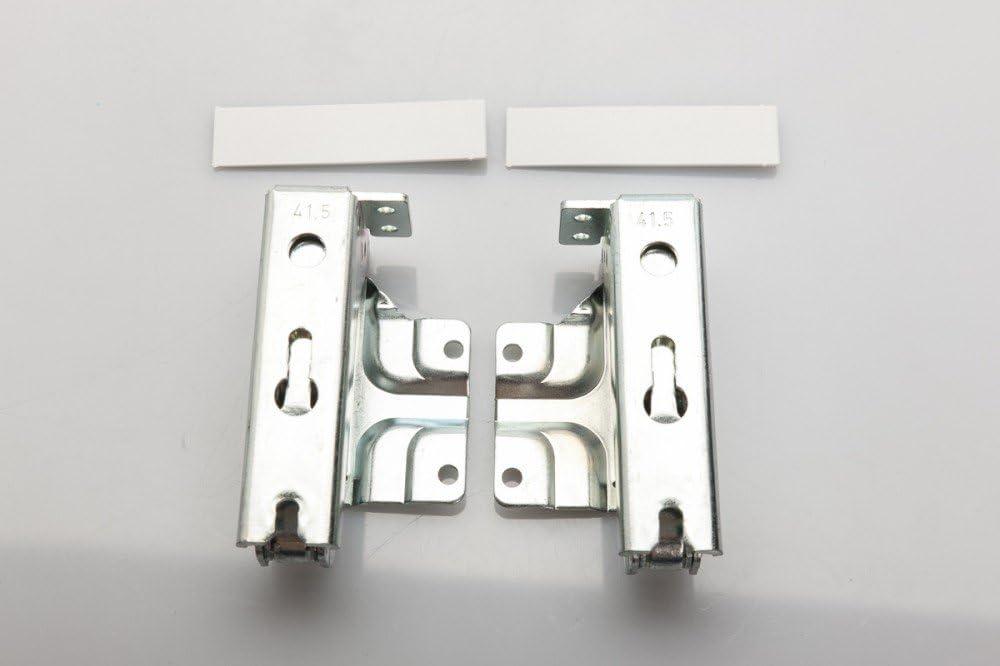 Bisagra de puerta de conjunto (Kit) + flecha abajo para los refrigeradores por AEG, Bosch / Siemens 48.