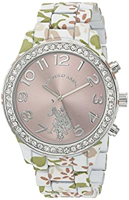 U.S. Polo Assn. Women's Quartz Metal and Alloy Automatic Watch, Color:Two Tone (Model: USC40105)
