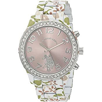 U.S. Polo Assn. Womens Quartz Metal and Alloy Watch, Color:Two Tone (Model: USC40105)