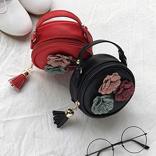 Zhongyu Marron Sjh2065558rt08 Pour Noir L'épaule Sac À Femme marron Porter rOawrY8q