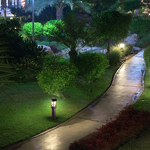 LEONLITE 3W LED Landscape Light, 18W Eqv, 12V Low Voltage, Waterproof, Aluminum Housing with Ground Stake, ETL Listed Outdoor Pathway Garden Yard Patio Lamp, 4000K Cool White, Pack of 12 by LEONLITE (Image #3)