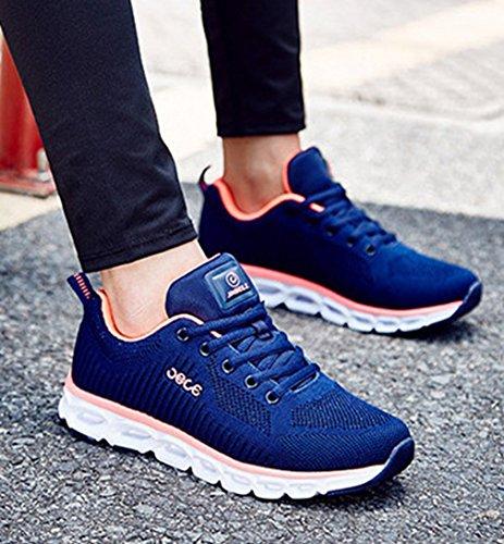 foncé botas Mujer de LFEU bleu caño bajo PfYqwSA