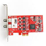 TBS 6205 Quad Freeview Dvb-T2/T/C Terrestrial / Cable Quad Tv Tuner Pcie Card (Replacement For 6285)