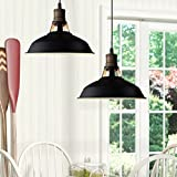 CLAXY Ecopower Industrial Barn Mini Metal Pendant Light 1 Light