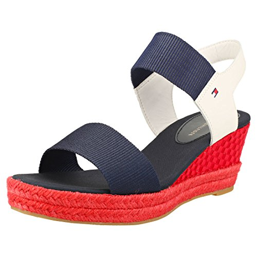 Blue FW0FW02829 Hilfiger Red 121 Sandalen Tommy Navy wZx0gq