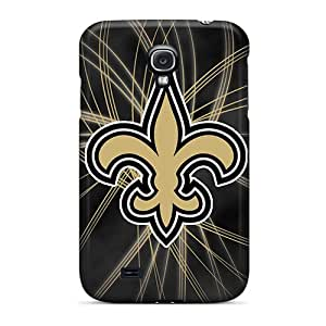 Samsung Galaxy S4 Fxh5481HkMF Custom Attractive New Orleans Saints Pattern Protective Hard Cell-phone Cases -AnnaDubois