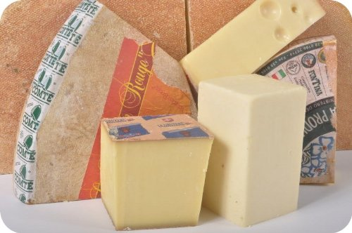 Melting Cheese Assortment - 5 Cheeses (8 oz Each) by Gourmet555 (Image #1)