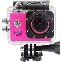 Lightinthebox SJ4000 PANNOVO 1.5 TFT 12.0 MP 2/3 CMOS 1080P Full HD HDMI Outdoor Sports Digital Video Camera Sports & Action Video Camera Pink