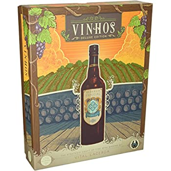 Board Game, 1-4 Players, Ages 14+ Vinhos Deluxe Edition w// All Stretch Goals