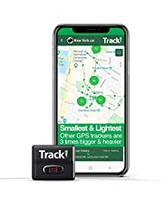 Tracki (2021) Mini GPS Tracker Real time. Full Canada, USA & Worldwide Coverage. for Vehicles, Car, Kids, Elderly, Dogs & Motorcycles. Magnetic Small Portable Tracking Device. Monthly fee Required