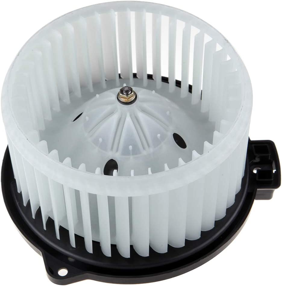 cciyu HVAC Heater Blower Motor with Wheel Fan Cage 615-58497 Air Conditioning AC Blower Motor fit for 2004-2005 Lexus RX330 //2000-2004 Toyota Avalon