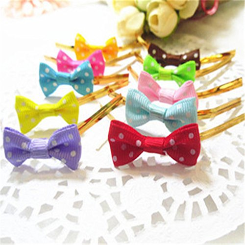[Saasiiyo Whole sale 20pcs/Set Bow ribbon wrap tie for Cellophane Candy Cookie Gift Bag Pouch in christmas wedding party 9 colors-6z] (Costumes For Sale In Las Vegas)