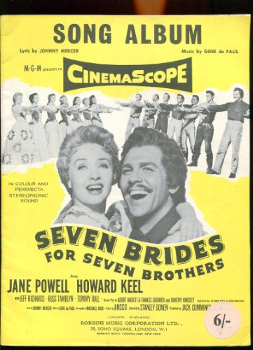 Seven Brides for seven Brothers (Seven Brides For Seven Brothers Sheet Music)
