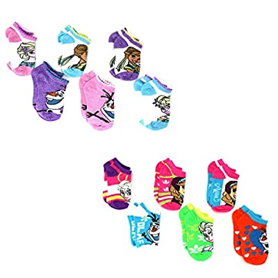 Frozen Anna Elsa Olaf Girls 6 pack Socks (Toddler/Little Kid/Big Kid/Teen/Adult/Womens)