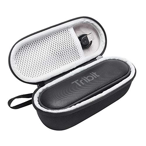 (Esimen Hard Case for Tribit XSound Go Portable Bluetooth Speaker Carry Bag Protective Box (Black))