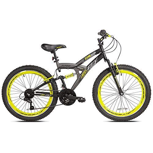 (Boys 24 inch Avigo Air Flex Dual Suspension Bike)