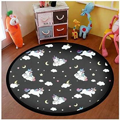 Happybuy Children Crawling Mat 6.5 x 5.9 Ft Memory Foam Area Rug Grey Plush Foam Bedroom Mat 2CM Thickness Rug for Crawling Babies