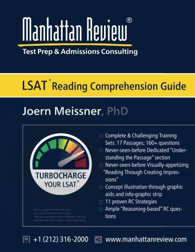 Manhattan Review LSAT Reading Comprehension Guide: Turbocharge your LSAT