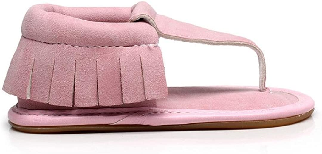 Highpot Baby Infant Girls Casual Tassel Princess Sandals First Walker Crib Shoes