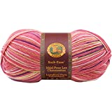 Lion Brand Yarn 240-205L Sock-Ease Yarn, Cotton Candy