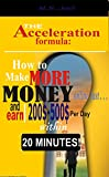 """Take control of your financial destiny through modern technology and learn the 6 fundamental systems for establishing recurring phenomena income within 20 minutes.""M.S Joel, the consummate e-Book writer shows you the most effective strategies and te..."