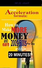 """Take control of your financial destiny through modern technology and learn the 6 fundamental systems for establishing recurring phenomena income within 20 minutes.""M.S Joel, the consummate e-Book writer shows you the most effective strategie..."