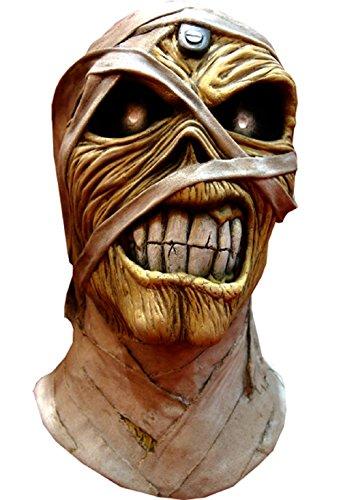 IRON MAIDEN EDDIE - POWERSLAVE MASK (Iron Maiden Eddie Halloween Costume)