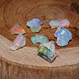 50 Carats Natural Raw Opal Crystal Rough Opal, Rough Opal Supply, Opal Gemstone, Welo Opal Specimen, October Birthstone, Raw Opal for Jewelry, Rough Crystals for Jewelry, Fire Striking Opal Lot