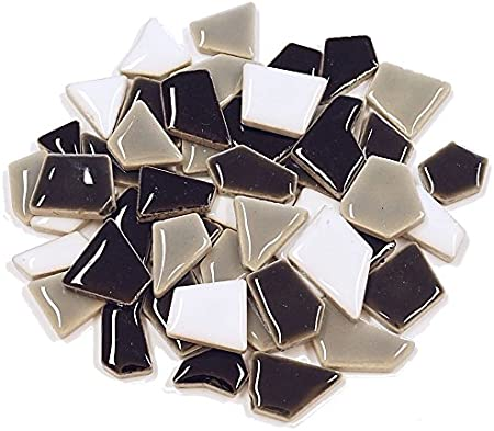 Unbekannt Flip Keramik Mini Mix Inhalt 500 g Farbe Blau Mix
