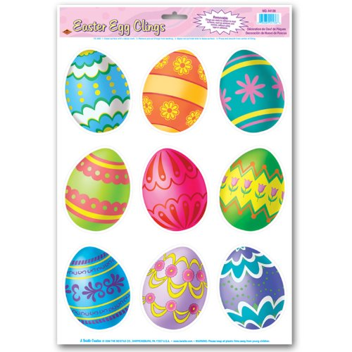 Easter Clings Party Accessory count